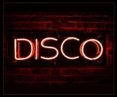 Disco Red Neon Sign